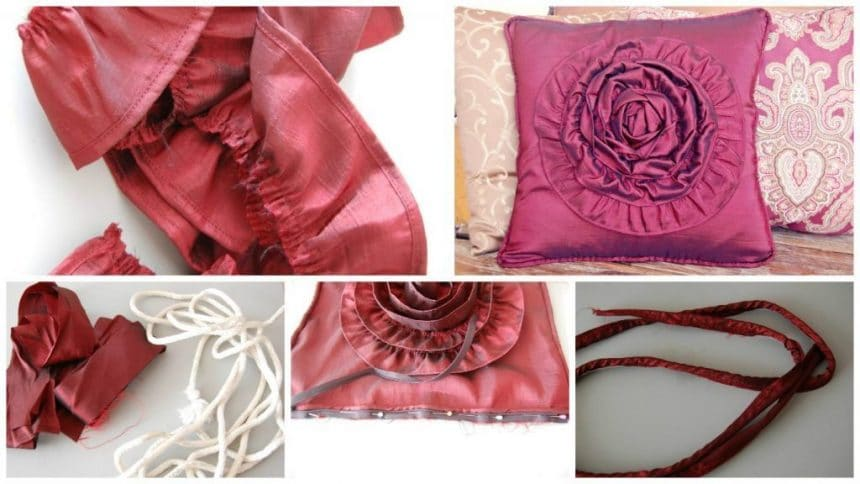 How to make elegant cushion cover
