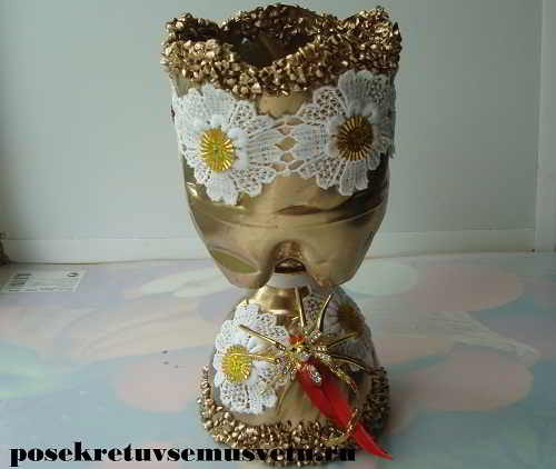 How To Make Vase From Plastic Bottle Simple Craft Ideas