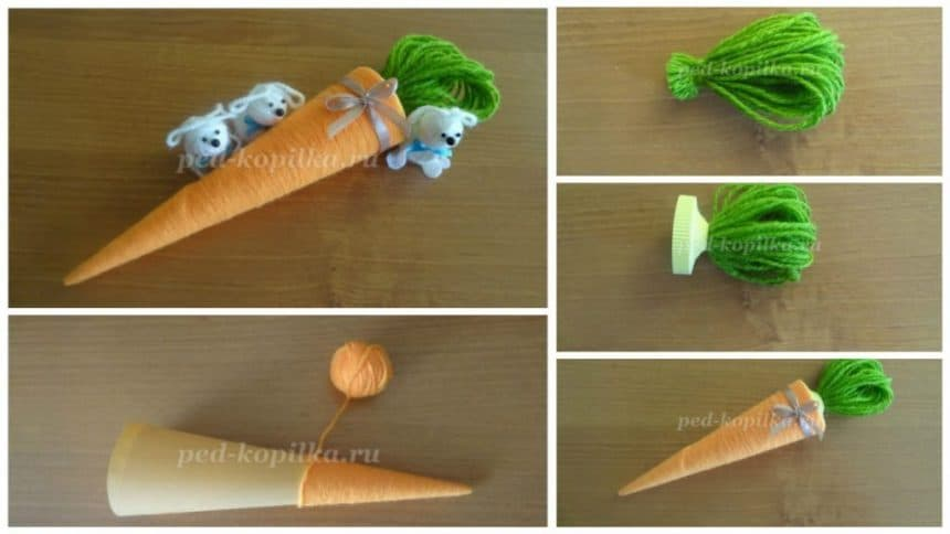 How to make Carrots from thread