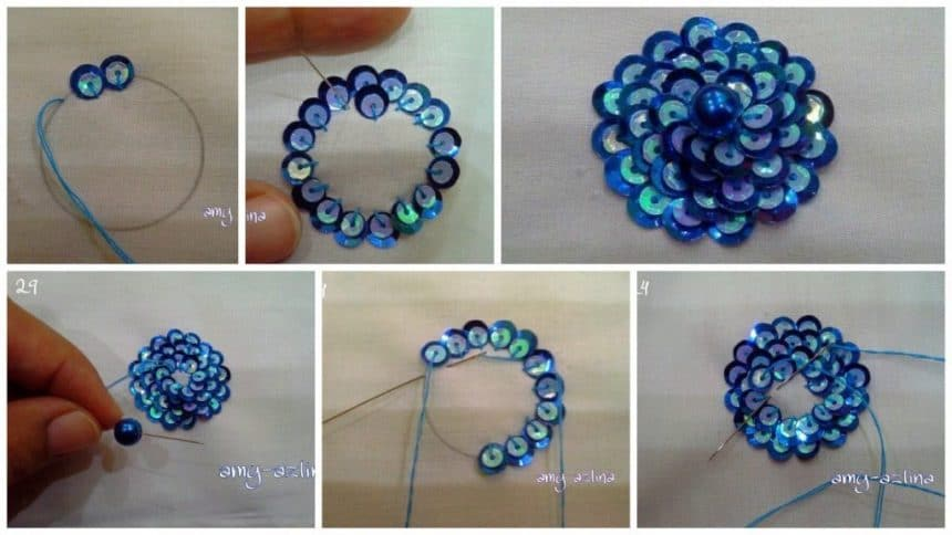 How to make sequence flower