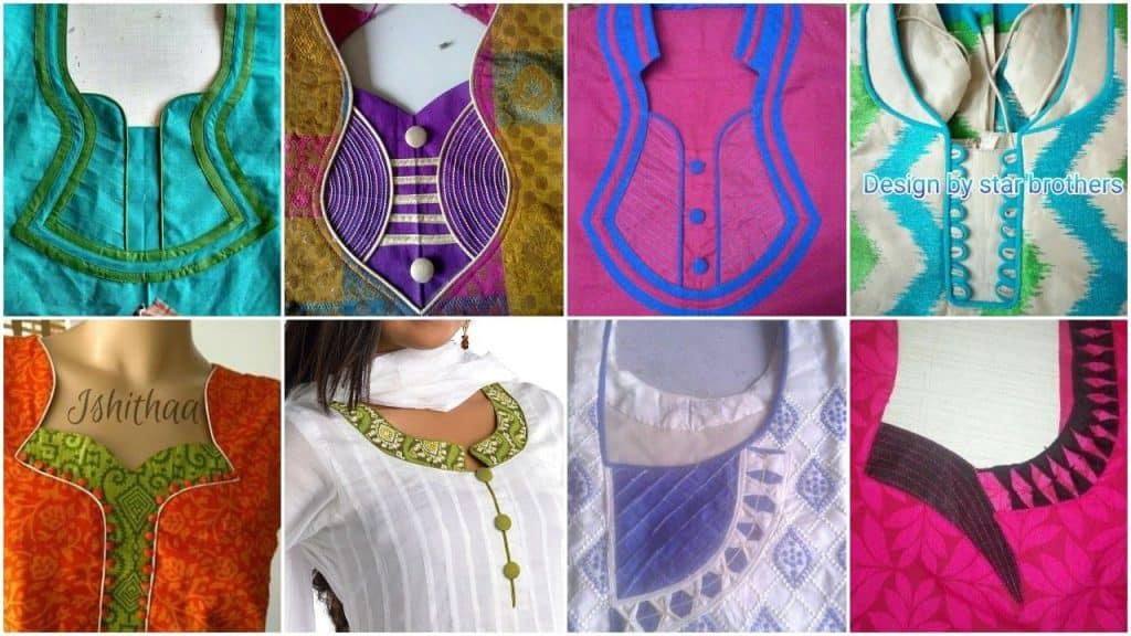 New kurti neck designs