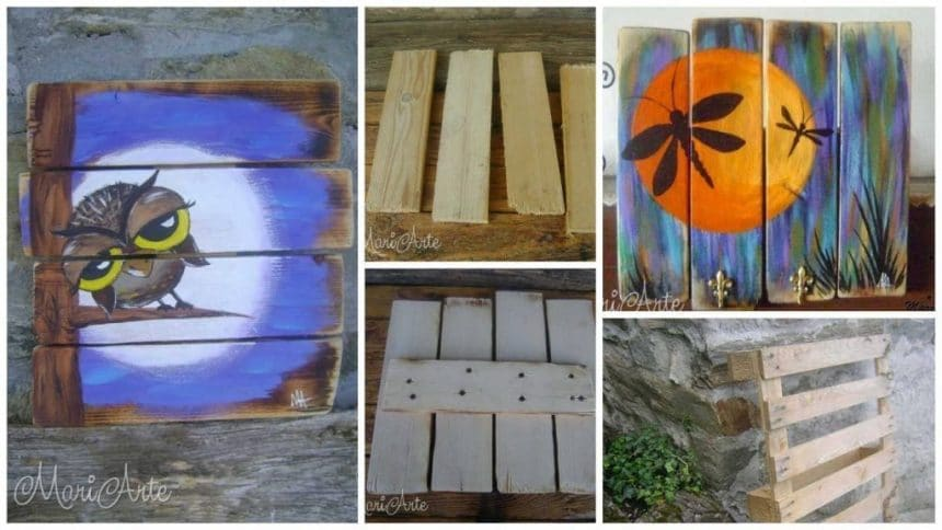 How to new life of wooden pallets