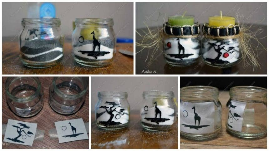 How to make 'nasypushki' candle stand
