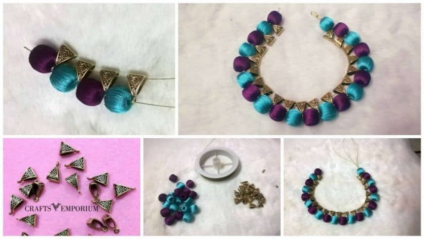 How to make beads with bail neck set