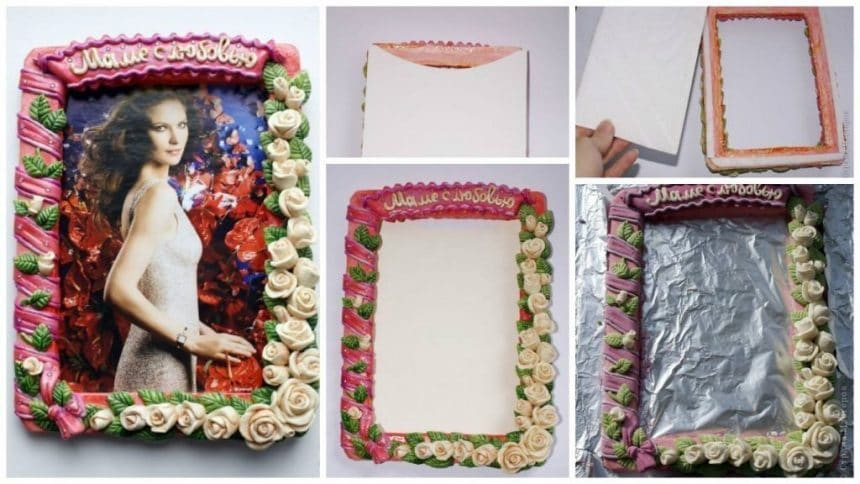 How to make frame for gift
