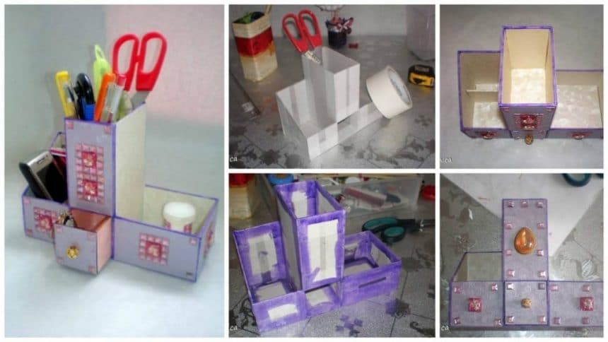 How to make table organizer