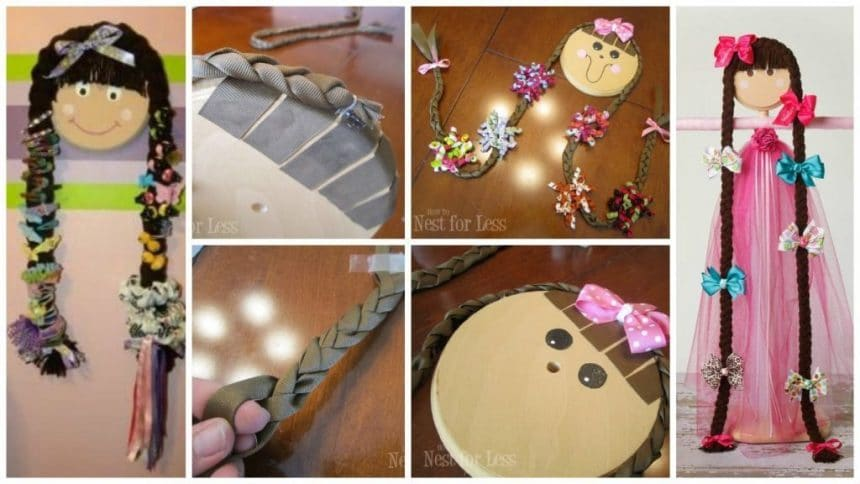 How to make hair bow holder