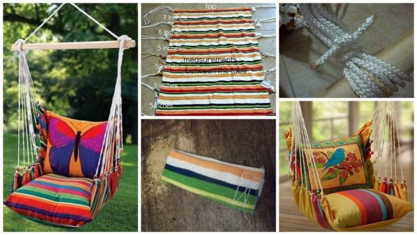 How to make hanging hammock chair