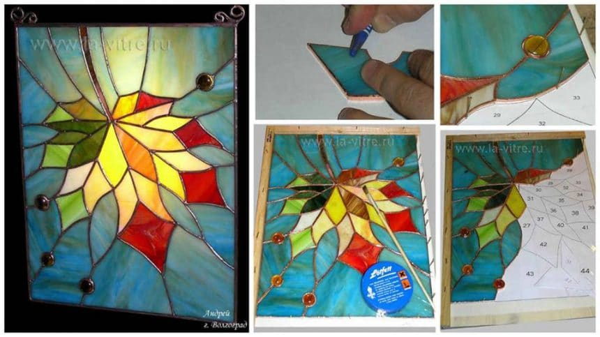 How to make stained glass window