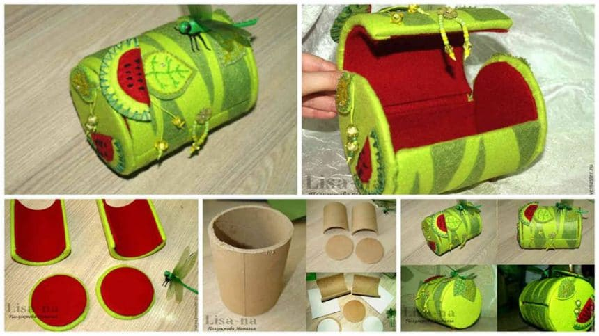 "How to make ""Watermelon"" clutch"