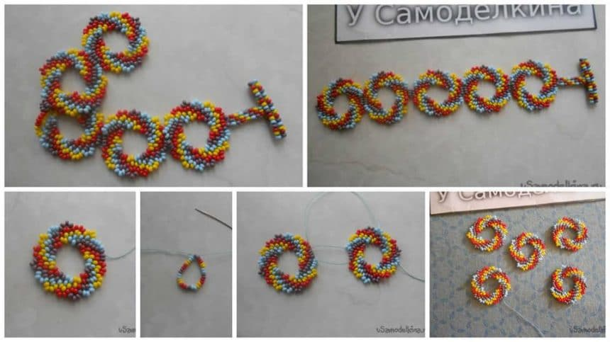 How to make bracelet of beads