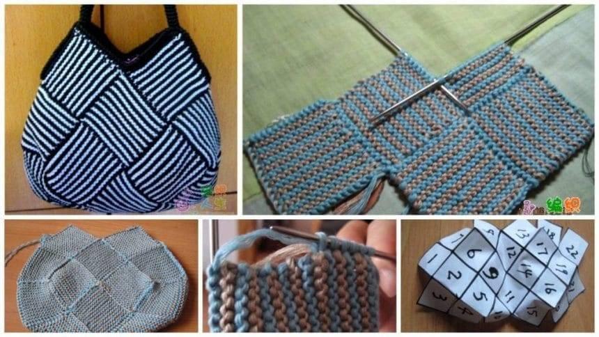 How to make knitting bag