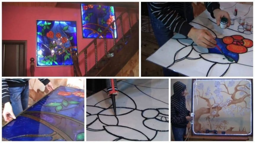 How to make beautiful stained glass window