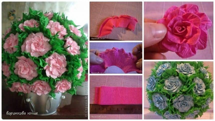 How to make rose ball