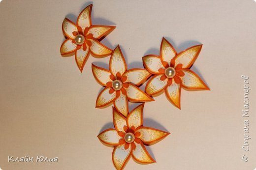 """MK """"flower made of paper ..."""" Photo 1"""