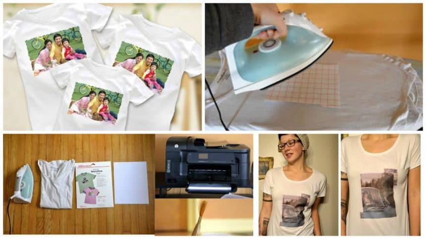 How to transfer the image on a t-shirt
