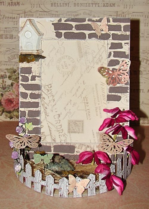 decorating photo frame