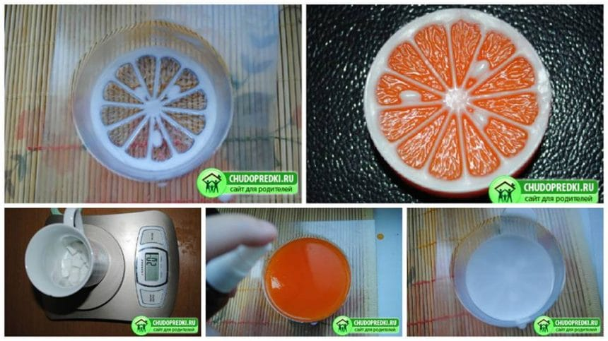How to make orange soap from scratch