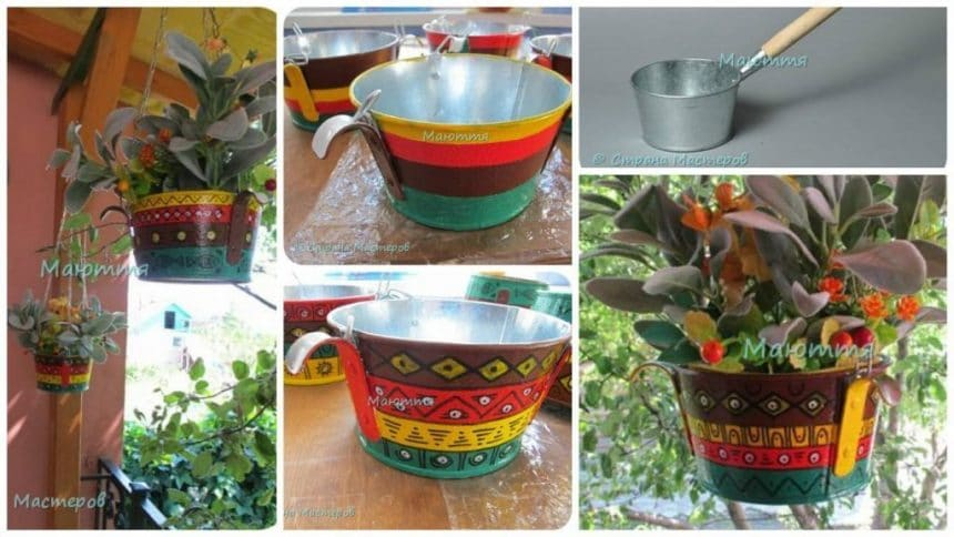 How to make planters