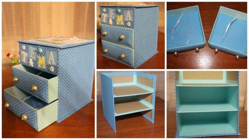 "How to make ""chest of drawers"""