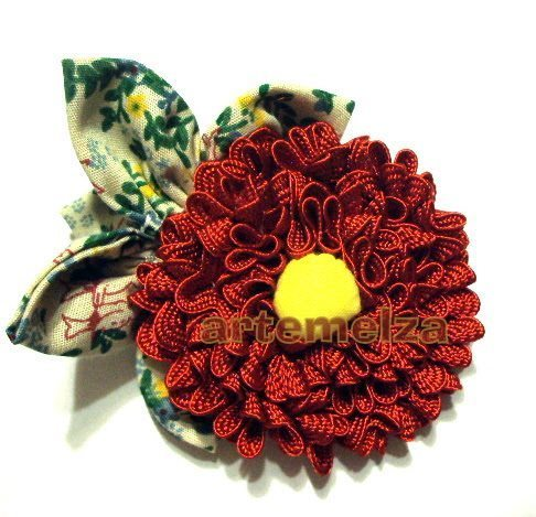 How to make zig-zag flower