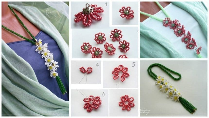 """How to make """"Blooming lariat"""""""