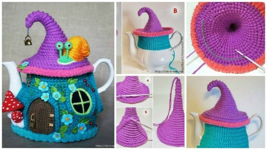 How to knitted Warmer for teapot