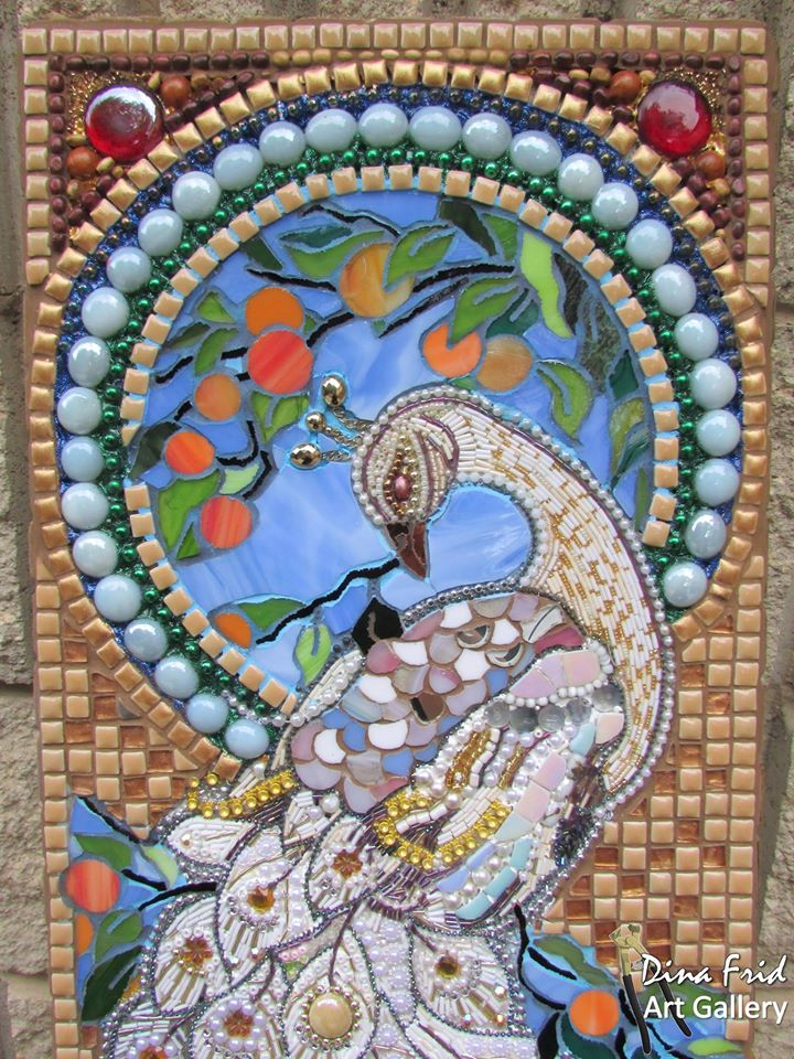 How To Make Mosaic Peacock Wall Art Simple Craft Ideas
