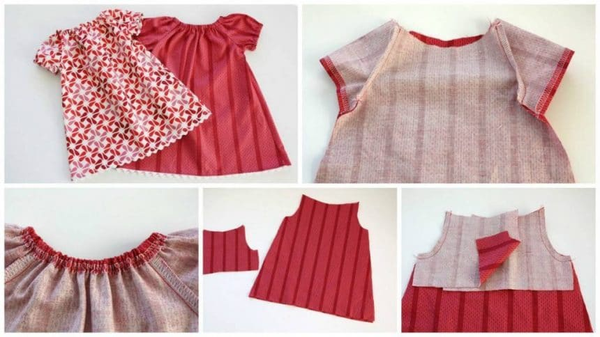 How to sew a summer dress for girls