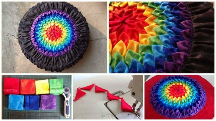 How to make bright pillow