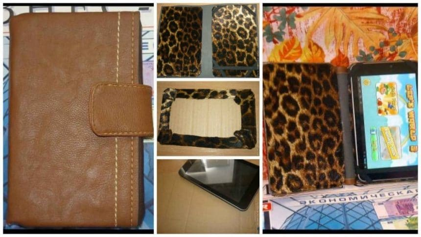 How to make tablet case