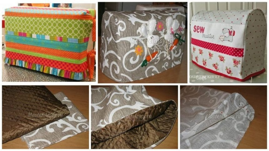 How to make a cover for a sewing machine!