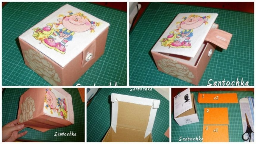 How to make gift box