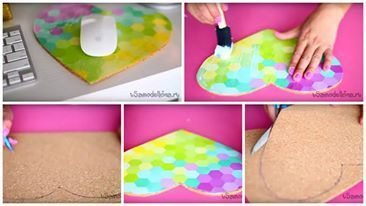 How to make a rug for computer mouse