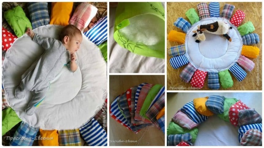 How to make rug for kids