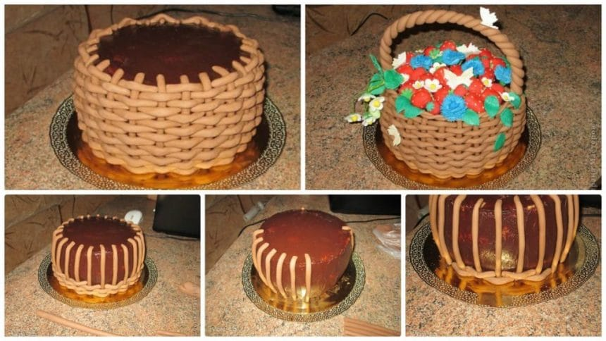 How to make sweet basket