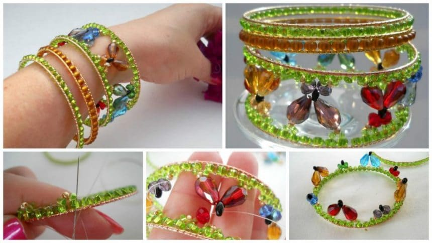 How to make butterfly bracelet