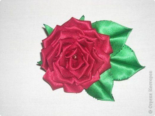 how to make a rose out of cloth