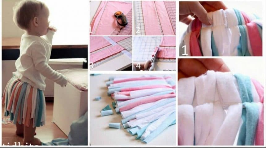 How to make tutu skirt