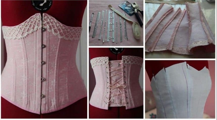 How to sew a corset