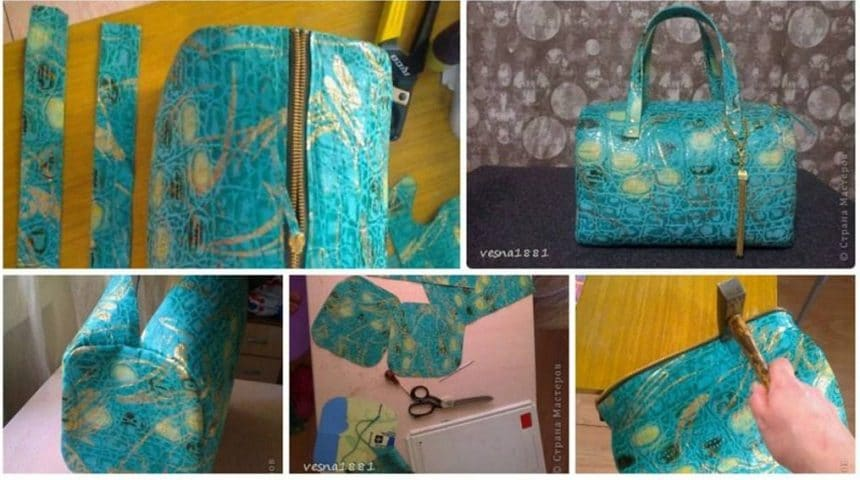 How to sew a trendy bag