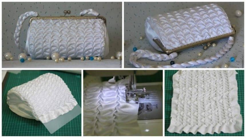 How to make luxury handbag for bride's