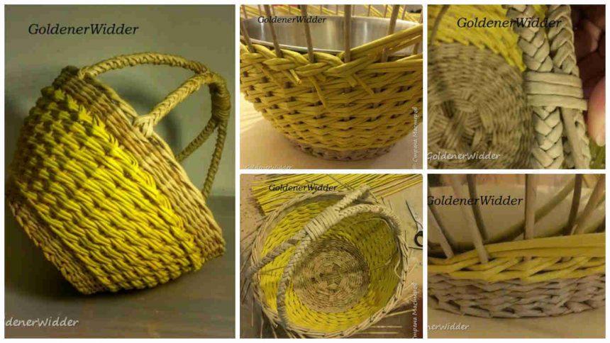 double handle basket