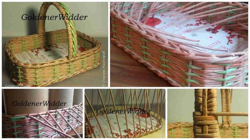 How to make christmas basket