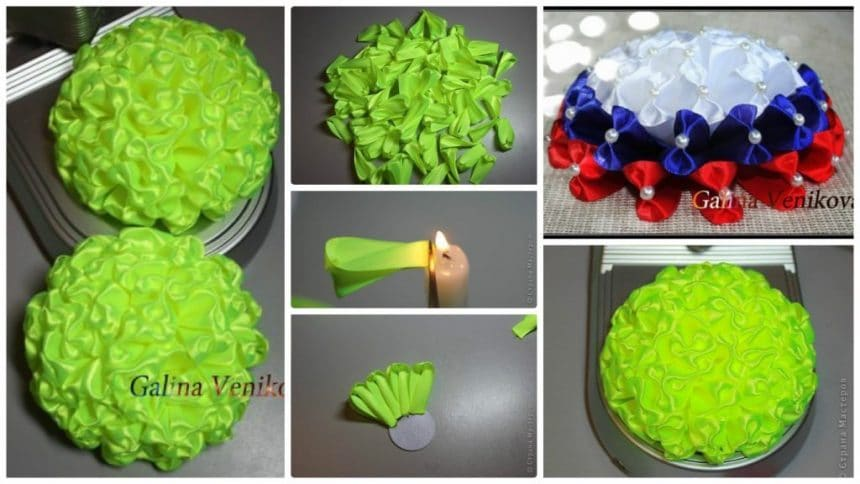 How to make lush bow