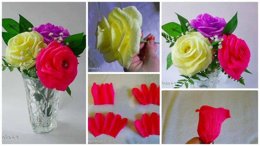 How to make  rose for sweets