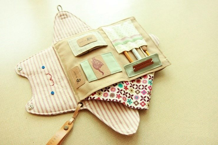 How To Make Sewing Organizer Bag Simple Craft Ideas