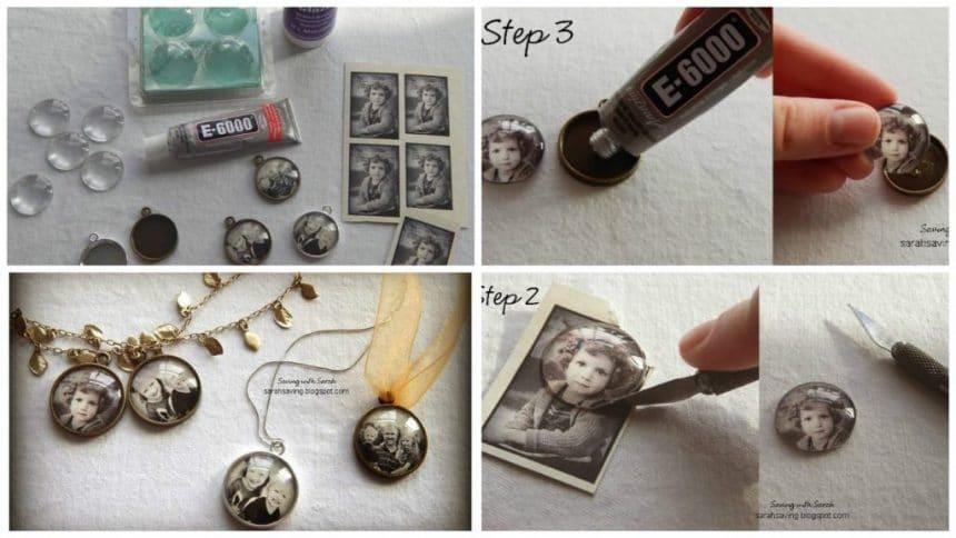 How to make photo pendant