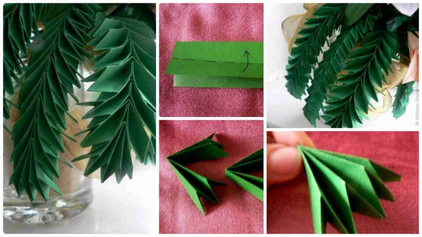 How to make spruce twigs