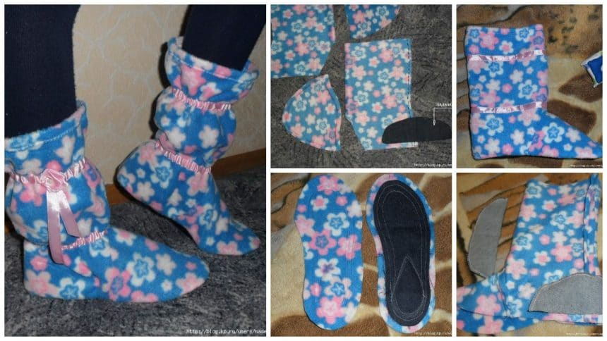 How to make home boots